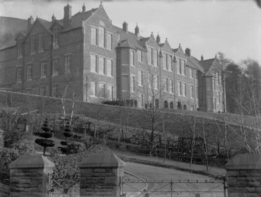 Higher Grade School, Pentre, Rhondda ca.1905