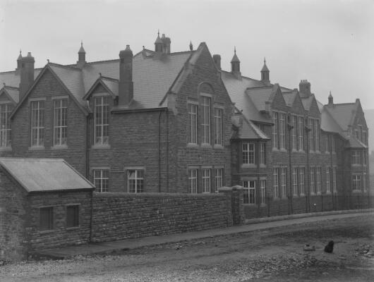 New schools, Porth, Rhondda Valley ca.1905