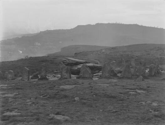 Rocking Stone & Pillars, Pontypridd