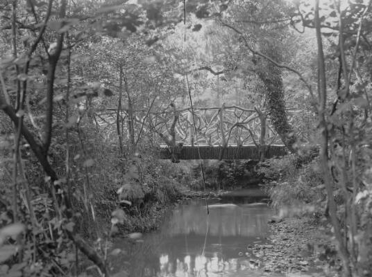 Rustic Bridge, Roath Park