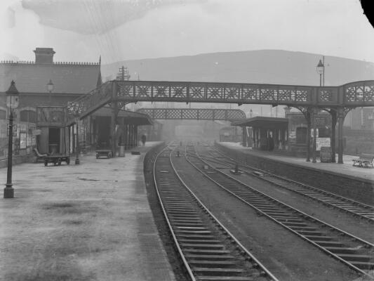 Railway Station, Porth, Rhondda Valley