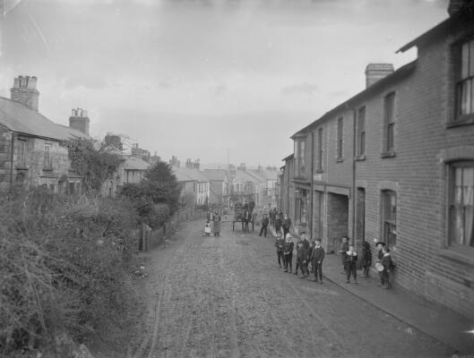 Commercial Street looking East; Pontnewydd