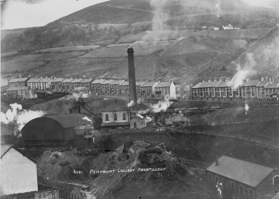 Penybont Colliery, Abertillery