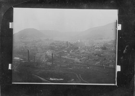 View in Abertillery