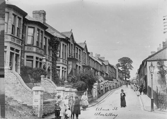 Alma Street, Abertillery
