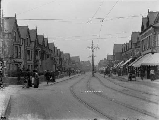 City Road, Caerdydd ca.1905