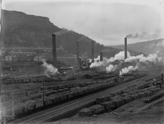 Glamorgan Collieries, Llwynypia, Rhondda