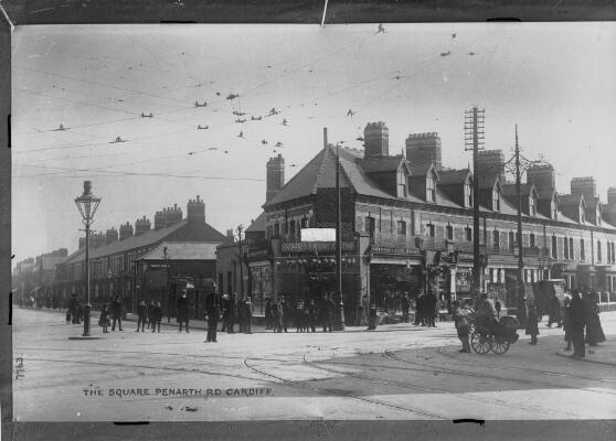 The Square, Penarth Road, Cardiff