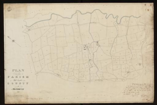 Plan of the parish of Oldcastle in the County...