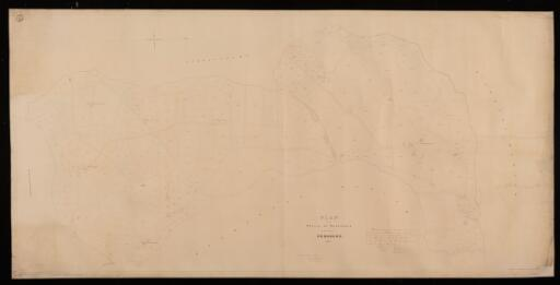 Plan of the parish of Manorowen in the County...