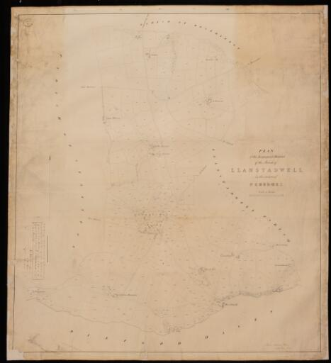 Plan of the impropriate district of the parish...