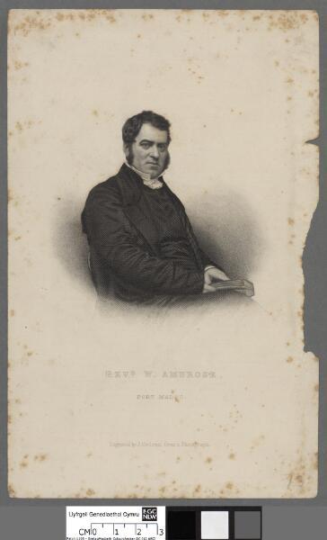 Revd. W. Ambrose Port Madoc