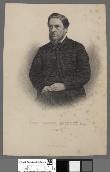 Revd. Daniel Anthony, B.A Tenby