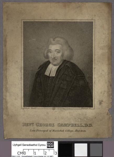 Revd. George Campbell D.D late principal of...