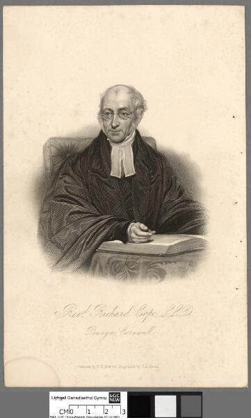 Revd. Richard Cope L.L.D. Penryn Cornwall