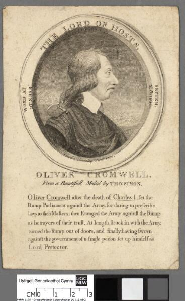 Oliver Cromwell the Lord of hosts ; word at...