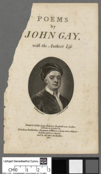 Poems of John Gay, with the author's life