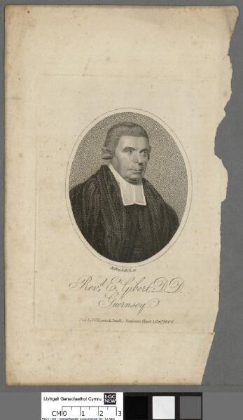 Revd. E. Gilbert, D. D. Guernsey