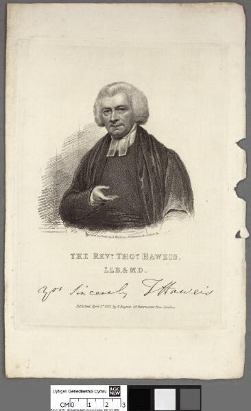 The Revd. Thos. Haweis, LLB & MD