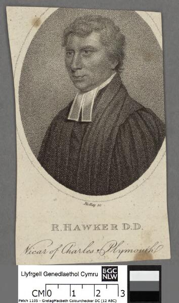 R. Hawker D.D., Vicar of Charles of Plymouth