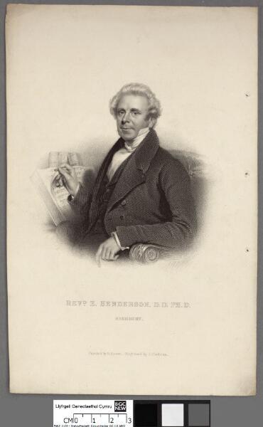 Revd. E. Henderson, D.D. PH.D. Highbury