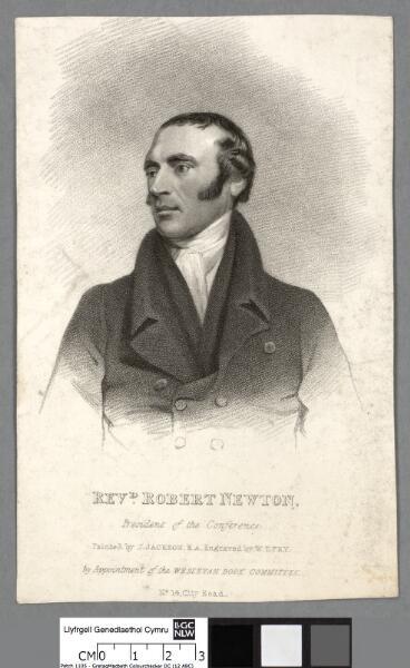 Revd. Robert Newton President of the Conference