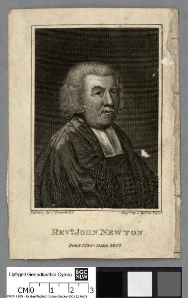 Revd. John Newton born 1725-died 1807
