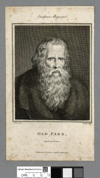 Old Parr aged 152 years