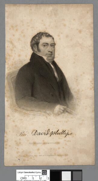 Revd. David Phillips, Caerleon, Monmouthshire