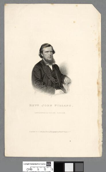 Revd. John Pillans Camberwell Green, London