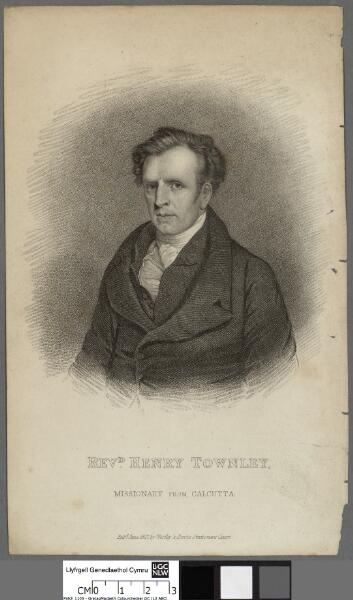 Revd. Henry Townley Missionary from Calcutta