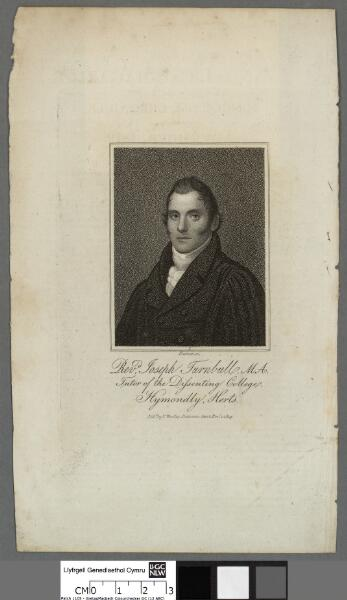 Revd. Joseph Turnbull M.A Tutor of the...