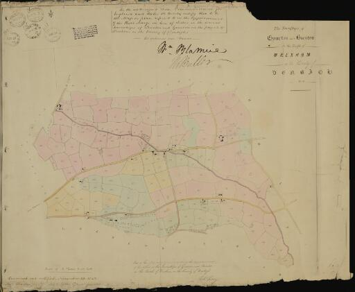 The townships of Gourton and Bieston in the...