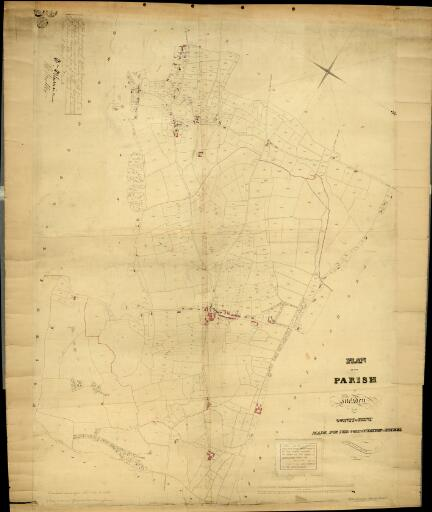 Plan of the parish of Meliden in the County of...