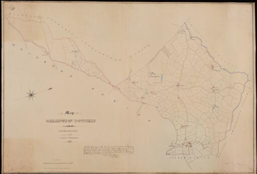 A map of Mellington township in the parish of...