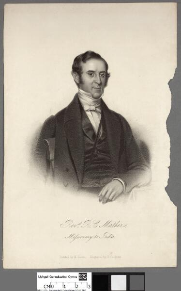 Revd. R. C. Mather, Missionary to India