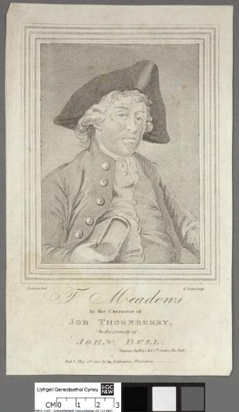 J. Meadons in the character of Job Thornberry,...