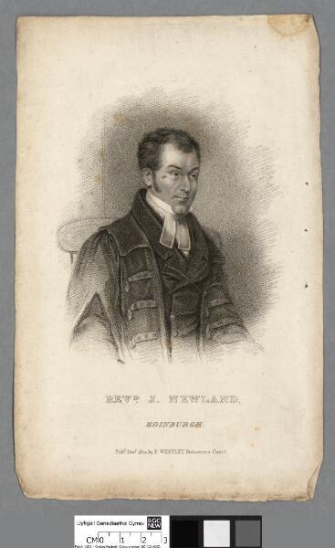 Revd. J. Newland Edinburgh