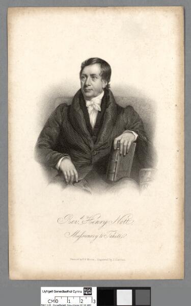 Rev. Henry Nott, missionary to Tahiti