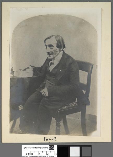 Hugh Jones ('Erfyl') first President...