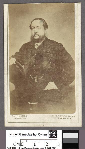 Sir Love Jones Parry Bart. (of Castell Madryn,...