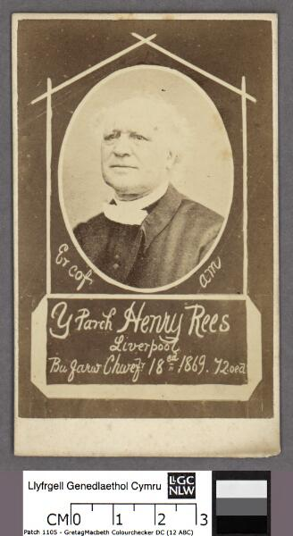 Er cof am y Parch. Henry Rees, Liverpool bu...