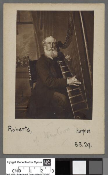 John Roberts, harpist, of Newtown