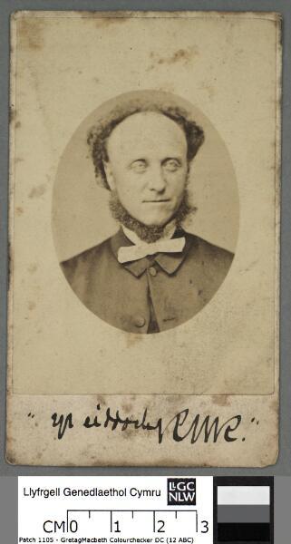 Rev. R. W. Roberts, Pentre Voelas
