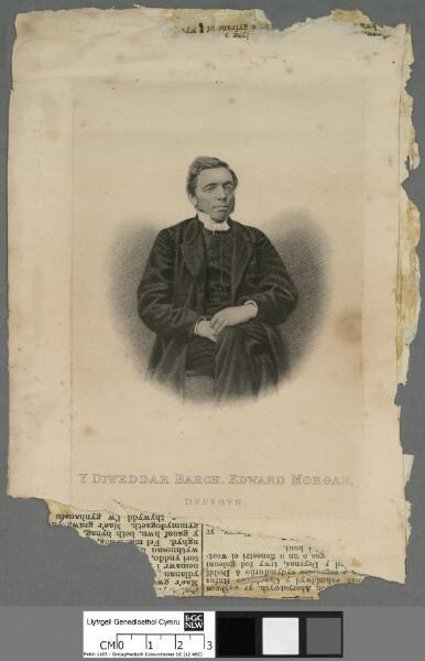 Y Diweddar Barch. Edward Morgan, Dyffyn