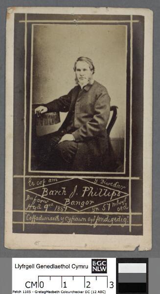 Er cof am y diweddar Barch. J. Phillips, Bangor...