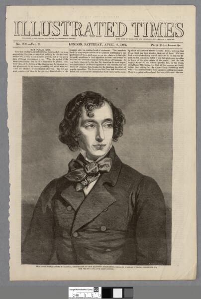 The Right Hon. Benjamin Disraeli Chancellor of...