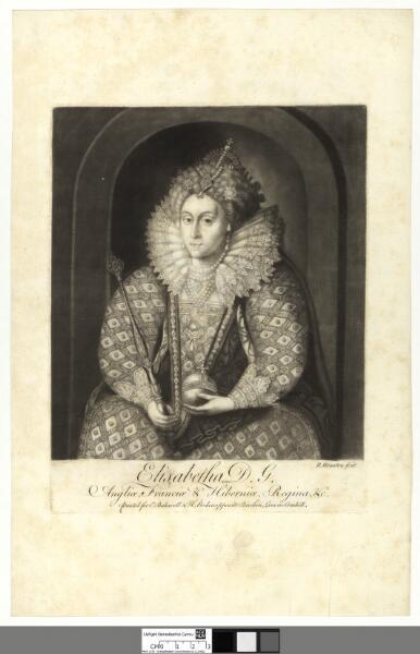 Elisabetha, D.G Angliae, Franciae &...