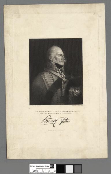 His Royal Highness Prince Ernest-Augustus, Duke...