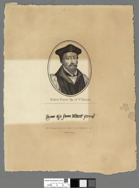Robert Ferrar Bishop of St. Davids
